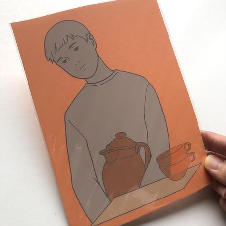 0.1 |夕焼け色のカード2