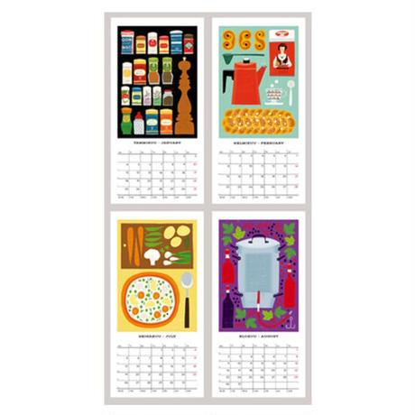 マッティ・ピックヤムサ/ 2021リングカレンダー「キッチン」
