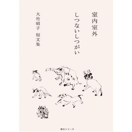 カタリココ文庫/ 大竹昭子 短文集 室内室外 しつないしつがい