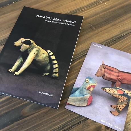 Shinji Iwamoto/ ANIMALS FROM OAXACA / Vintage Oaxacan Wood Carvings