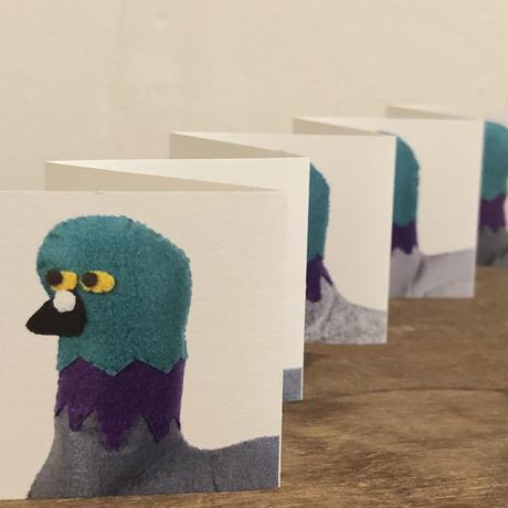 Bird Pit/ アコーディオンブック鳩
