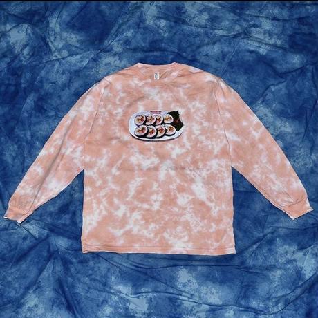 宇宙萬物/ 🍑ピーチ キンパップ長袖Tシャツ
