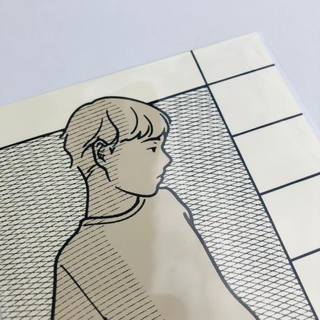0.1|シルクスクリーン印刷のカード