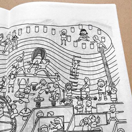 美藝畫報社の本|Zine セット: 香港の公園+ 香港の市場