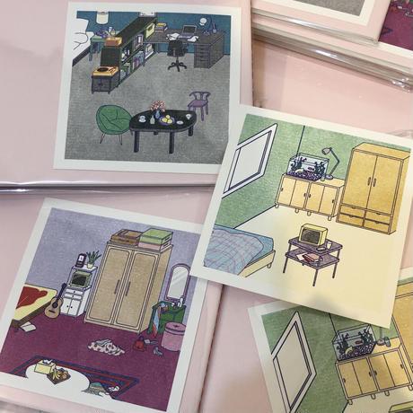 キムボエ/ 風景アパート ordinary scenery