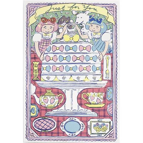 北澤平祐/ 2. ティータイム(グリーティングカード)