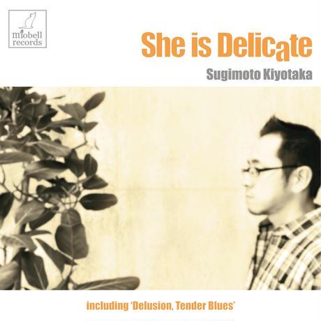 杉本清隆『She is Delicate~彼女はデリケート』 PCMR0015(CD) ※ポストカード特典付