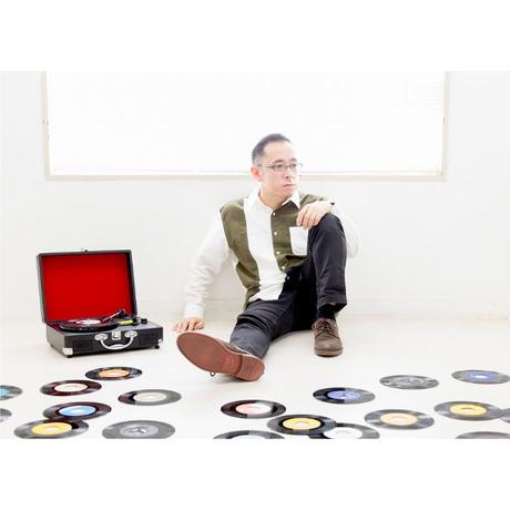 Alma-Grafe/杉本清隆『汽車を待つ列を離れ/Blowin'(the gloom away)』(CD-R付) ※缶バッジ特典付 PCMR0004(7inch)