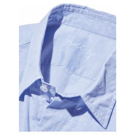 "ROLL UP ""ALUMO CLASSIC""SHIRT(ALUMO FABRIC) -BLUE-"