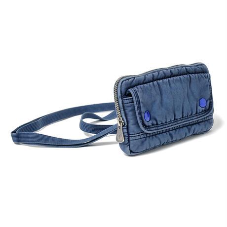 SUPER NYLON WALLET POUCH -INDIGO BLUE-