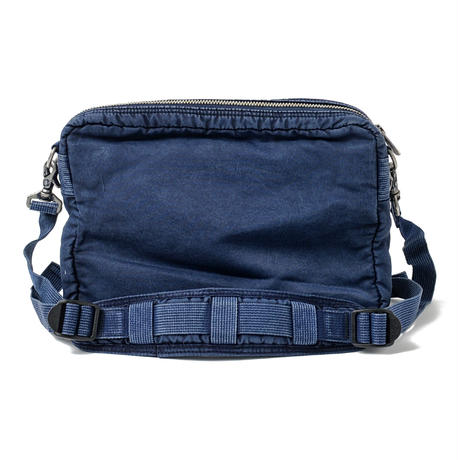 SUPER NYLON SHOULDER BAG M -INDIGO BLUE-