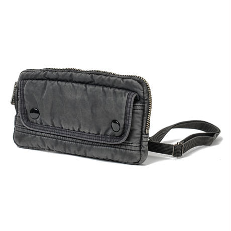 SUPER NYLON WALLET POUCH -BLACK-