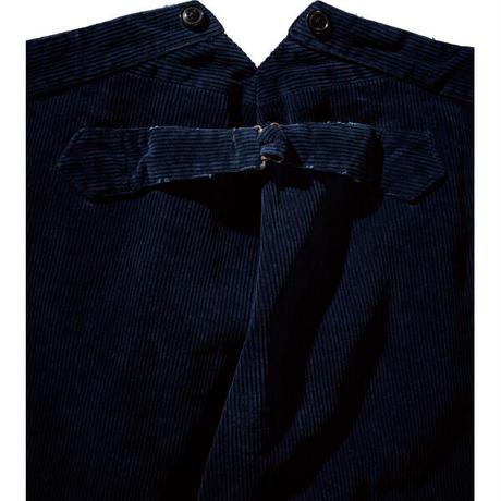 CORDUROY 2-TONE GENERATION PANTS -BLUE-