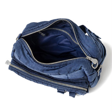 SUPER NYLON WAIST BAG -INDIGO BLUE-