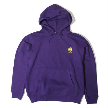 Embroidery logo hoodie (Purple)