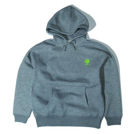 Embroidery logo hoodie (Gray)