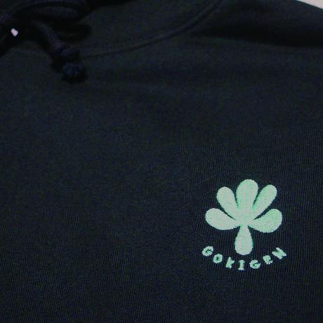 Embroidery logo hoodie (Black)