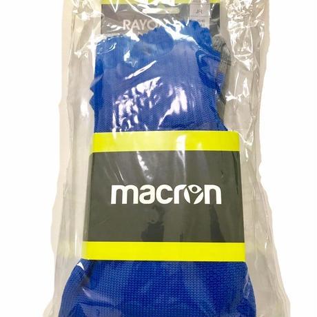 【受け取りのみ】macron【ストッキングBlue】JRサイズ(23~25cm)SRサイズ(26~28cm)