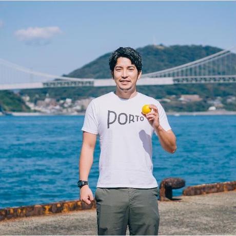 大手を振って歩いてください PORTO Tシャツ>ロゴ