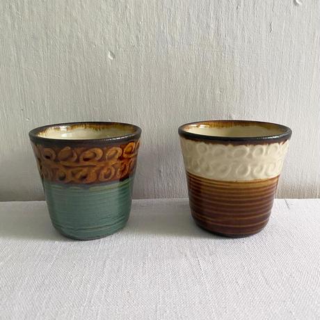 一翠窯 陶コップ(小)