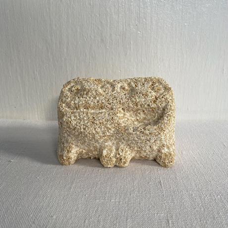 スタジオde-jin 手彫り石獅子