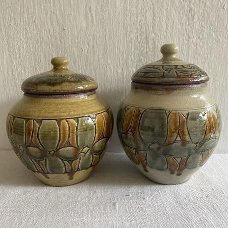 江口窯 蓋物