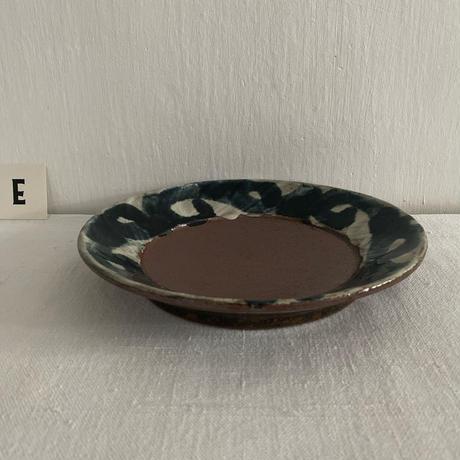 深貝工房 7寸リム皿