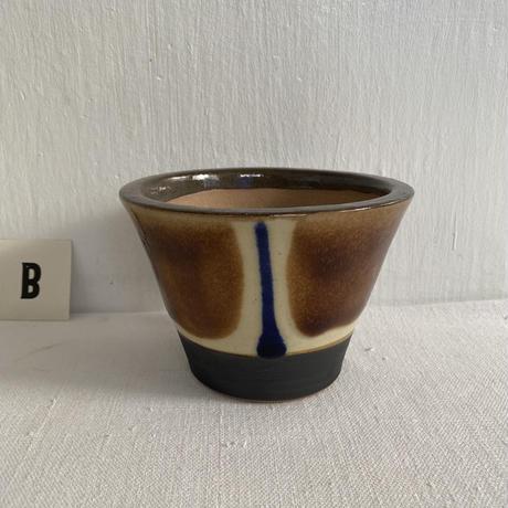 ノモ陶器製作所 4寸植木鉢