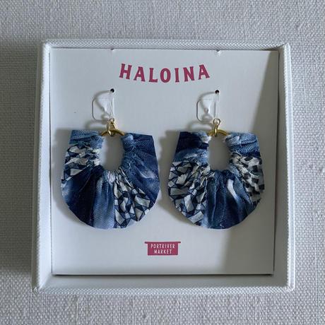 HALOINAハロイナ 琉球藍染ピアス