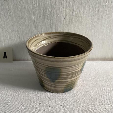 からや窯 5寸植木鉢