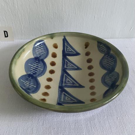 ヒネモスノタリ  8寸深皿