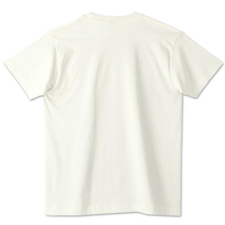 【銀バル】オーガニックコットンTシャツ - ナチュラル