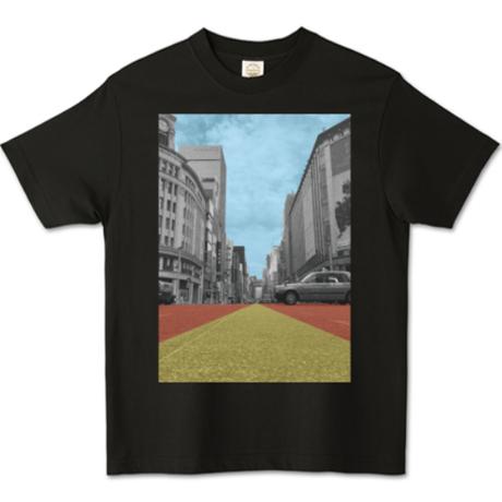 【銀バル】オーガニックコットンTシャツ - スミクロ