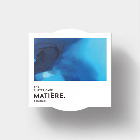 THE BUTTER ICE「MATIERE.」スッキリとした口溶け