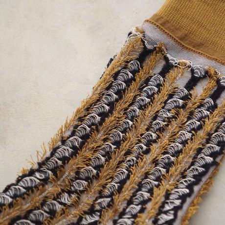 fluffy stripe / reversible <gray>