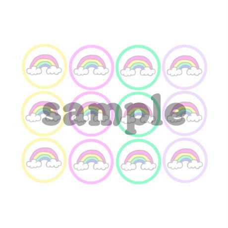 丸メモ*Rainbow