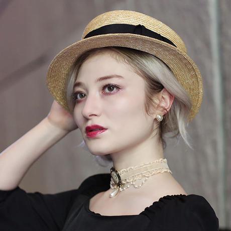 【pour Mademoiselle】オリジナルカンカン帽