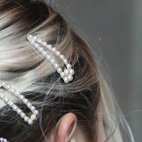【pour Mademoiselle】パールヘアピン1