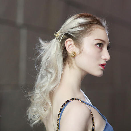 【pour Mademoiselle】パールヘアクリップ1