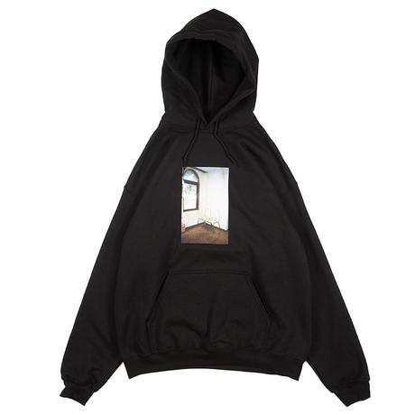 Chairs Hooded Sweatshirt (Black)