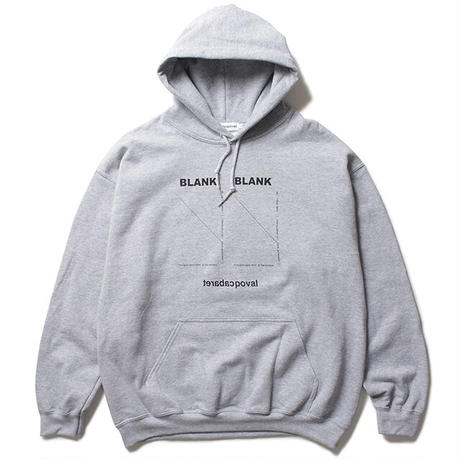 Blank Hooded Sweatshirt / Grey