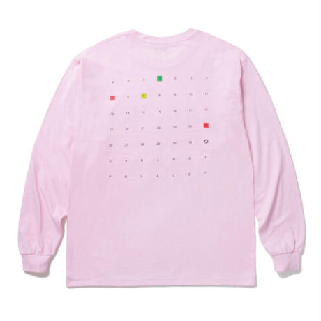 Lost Archive L/S Tee (Off Pink)