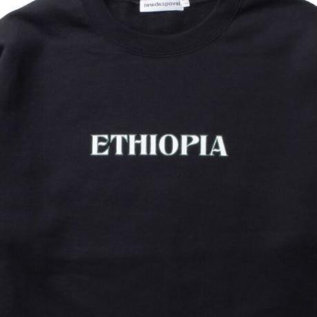 Ethiopia Crewneck Sweatshirt / Black