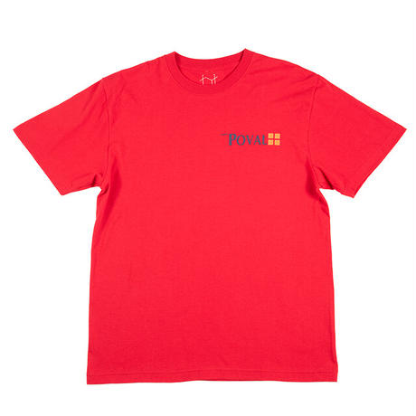 Brush Logo Tee (Red)