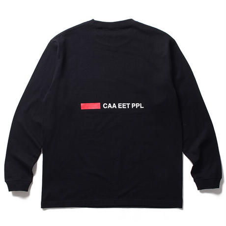Night Thoughts LS Tee / Black