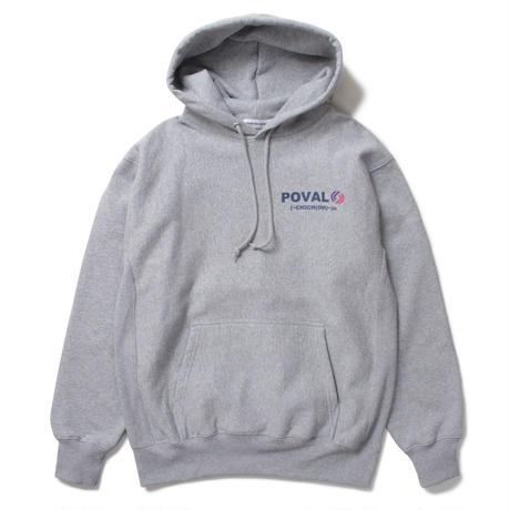 Rational Hooded Sweatshirt (Mix Grey)