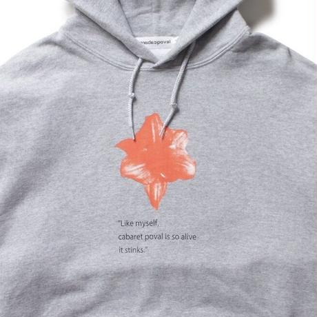 Void Hooded Sweatshirt / Grey