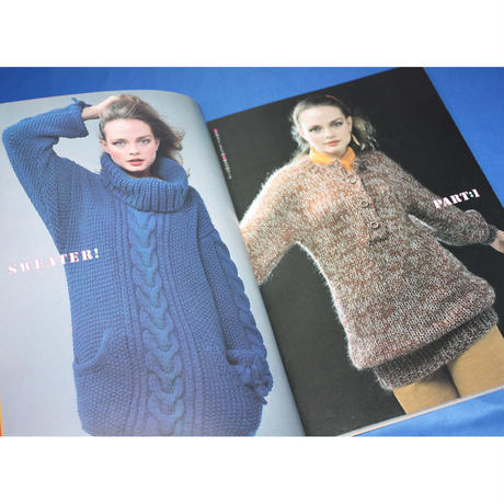 さっくり編むセーター 棒針あみ  昭和52年 雄鶏社