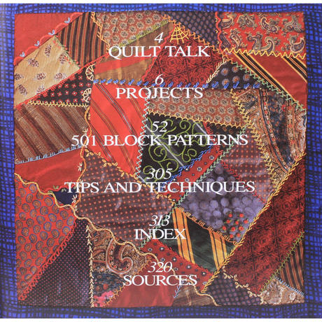501 QUILT BLOCKS : A Treasury of Patterns for Patchwork & Applique