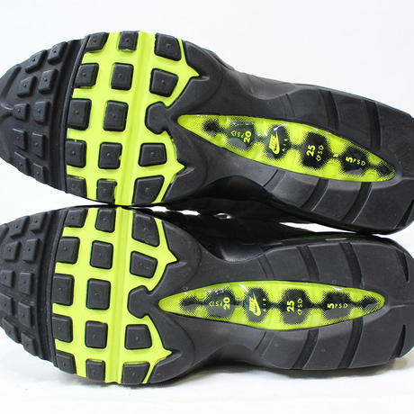 NIKE AIR MAX 95 OG 554970-071 BLACK×VOLT-MEDIUM 2015年製